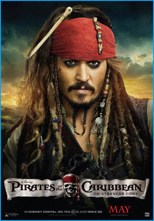 Pirates of the Caribbean: On Stranger Tides is a 2011 adventure fantasy film and the fourth installment in the Pirates of the Caribbean series.