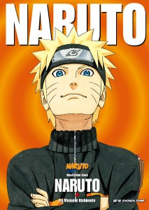 Naruto art book cover illustrated by Masashi Kishimoto movies i didnt get