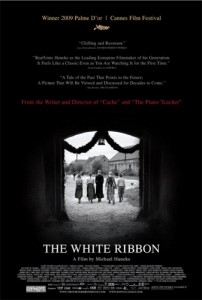The White Ribbon movie poster movies i didnt get
