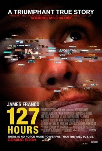 127 hours movie poster of james franco on movies i didnt get