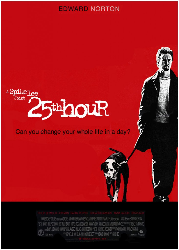 25th Hour is a film I can watch over and over again, and always learn something new.