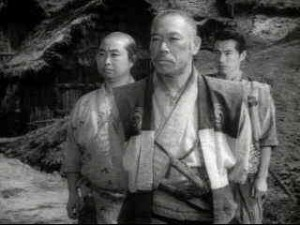 Kambei is the eldest and wisest of Kurosawa's seven samurai.