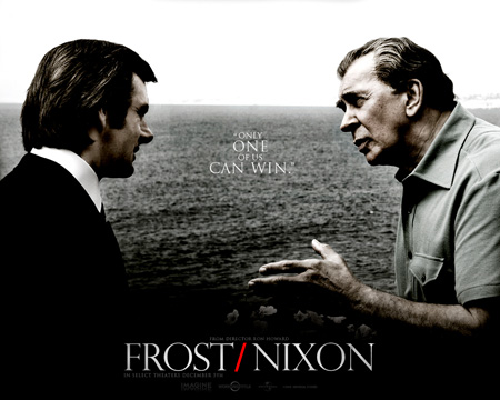 Frost/Nixon is a 2008 historical drama film based on the 2006 play by Peter Morgan which dramatizes the Frost/Nixon interviews of 1977.