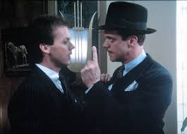 Johnny Dangerously is riddled with sight gags.