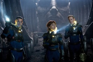 Prometheus is visually stunning and the FX are what you would expect from a big-budget film.