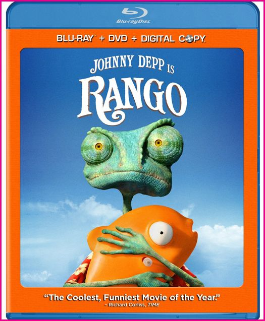 Rango has been scheduled for release on July 15 through Paramount Home Entertainment and the disc will come on Blu-ray and DVD with special features Including an extended cut of the Film with a never-before-seen alternate ending, deleted scenes, an interactive tour and more.