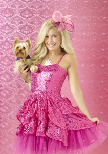 "Ashley Tisdale stars as Sharpay Evans on Disney Channel's original movie ""Sharpay's Fabulous Adventure."""