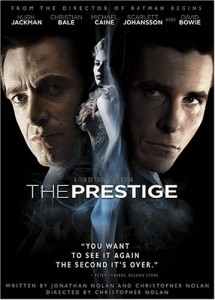 The Prestige, we live in the turn, while the pledge is revealed to us in flashbacks, and then the prestige isn't what the prestige is supposed to be, but rather something that cheats and gives an easy out.