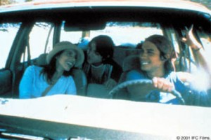 Y Tu Mama Tambien contains a series of road-trip sequences as the boys become closer to Luisa.