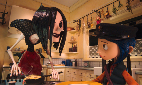 Coraline is a 2009 stop-motion 3D fantasy children's film based on Neil Gaiman's 2002 novel of the same name.