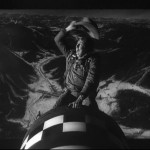 Slim Pickens tackles one of his finest roles in Stanley Kubrick's Dr. Strangelove.