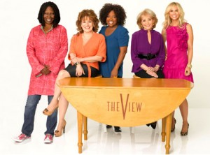 """The View"" features Daytime Emmy Award-winning hosts Barbara Walters, Whoopi Goldberg, Joy Behar, Elisabeth Hasselbeck and Sherri Shepherd."
